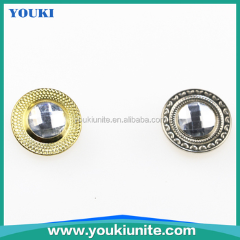Metal Button for Jeans, Jeans Button in Rhinestones YKBT-1004