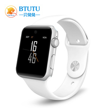 BTUTU Bluetooth <strong>Smart</strong> <strong>Watch</strong> for Apple <strong>Watch</strong> Wristwatch HD Screen Support 2G SIM Card Wearable Devices Smartwatch Pedometer