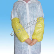 HOT! Nonwoven and PE sleeve cover/ Disposable women arm cover
