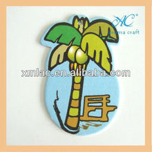 best holiday palm magic tree hanging car paper air freshener for promotion