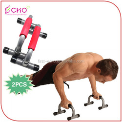 Fitness Body Building Detachable Push Up Bars Stand