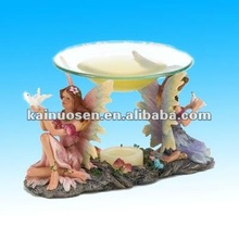 Fairies Resin Prayer Oil Warmer