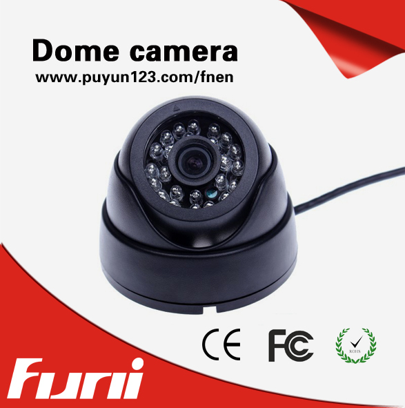 2017 New wired Home Security Camera 4MP Indoor Mini Dome