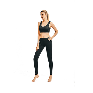 New Ladies Sports Gym Wear Bra And Pants Set OEM Custom Private Label Fitness Women Yoga Suit