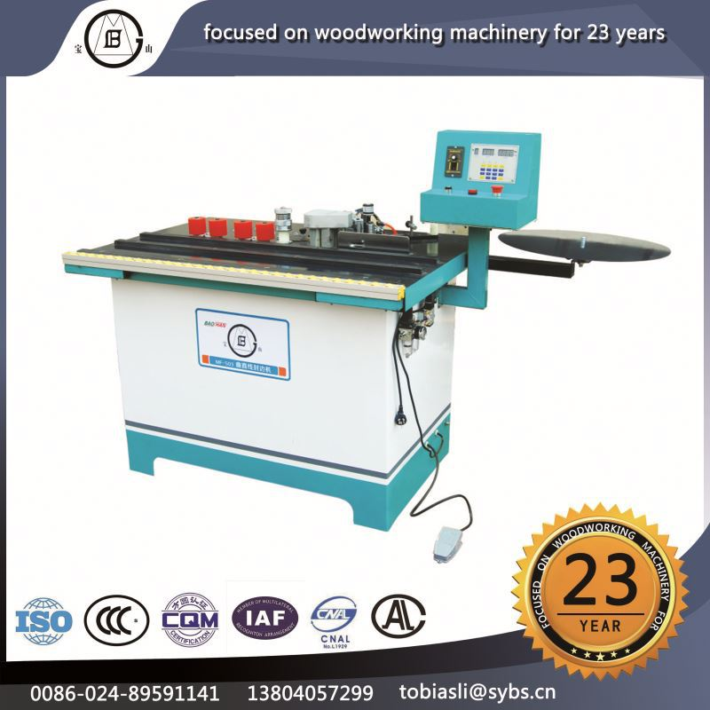 MF-506 Wholesale good service log timber semiautomatic milling wood processing edge trimming machine