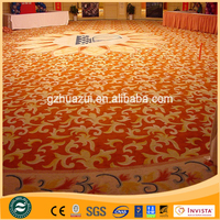 Wall to wall handmade wool carpet and fireproof carpet for hotel hall ,hotel banquet,hotel room
