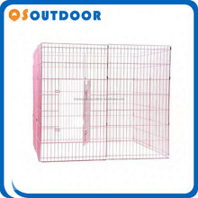 Lovely Pet Playpen Dog Cages Kennel Crate Metal Enclosure Fence