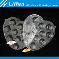 High Quality Heart-shaped Plastic Compartment Chocolate Tray With Lid