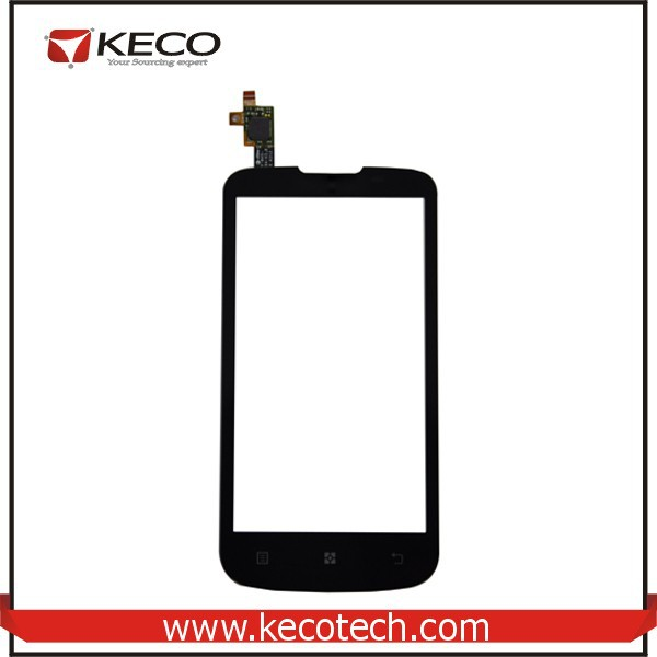 "4.5"" inch Mobile Phone Outer Screen Touch Sensor Digitizer Glass For Lenovo A800 Black"