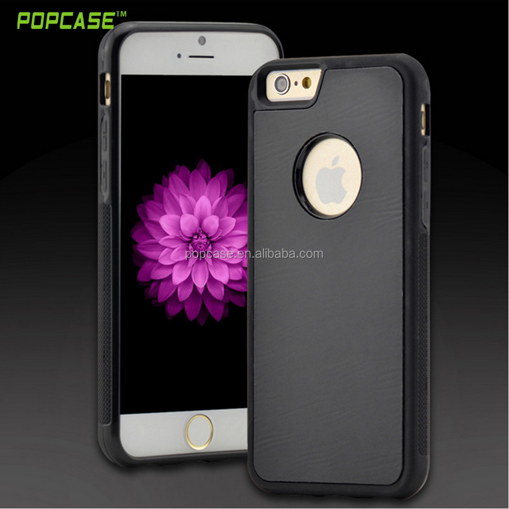 New design anti gravity case TPU + PC Anti-Gravity Sticky Case Cover For iPhone 5 /6/7