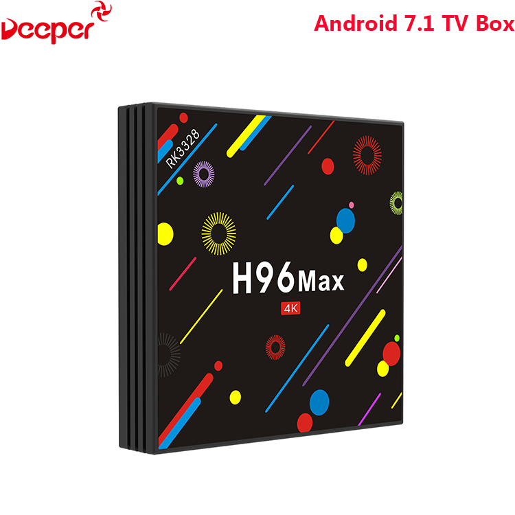 Factory Direct Sale World Tv 4Gb Ram 32Gb Rom Android 7.1 H96 Max H2 Tv Box