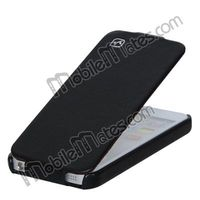 Best Quality & New Product HOCO Royal Duke Series Open Up And Down Flip Pouch for iPhone5S 5 Leather Case Wholesale