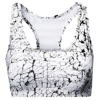 Ladies fitness wear training wear space dye movement sports bra