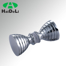 high quality stainless steel glass hardware accessories bathroom knob for 8-12mm