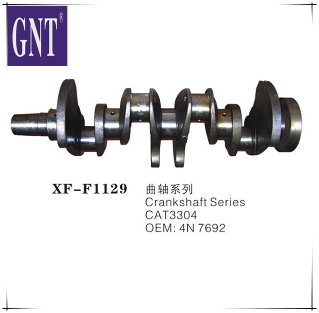 4N7692 excavator engine 3304 Crankshaft