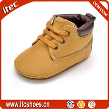 High quality comfortable soft bottom infant boots wholesale new suede babies boots