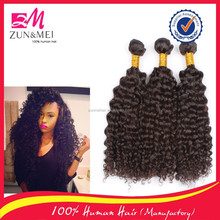 100 human hair extension different types of curly weave hair for black women