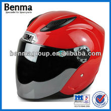 motorcycle helmet with sun visor,cheap sale motorcycle half face helmet and branded helmet