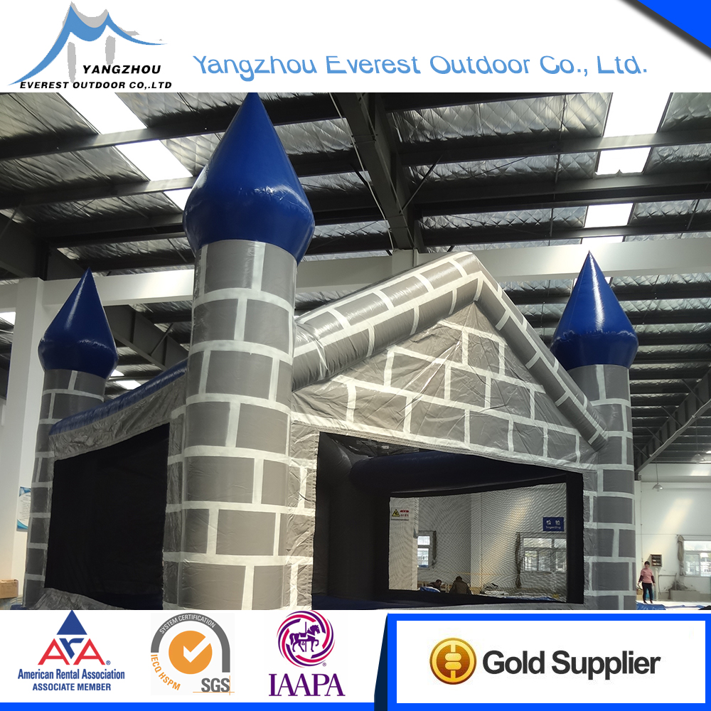 Quality Assurance 15'x15'x15' giant inflatable bouncy castle