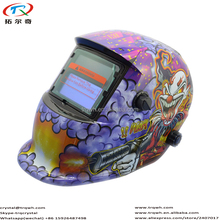 Purple Color Welding Helmet for Welder Eye Full Face Protection
