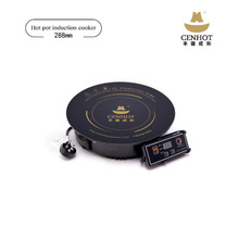 Induction hot pot cooker induction cookware with shabu shabu