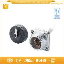 Waterproof male electrical aviation plug socket Rohs certificated