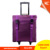 Nylon trolley travel rolling beauty makeup cases professionals with universal wheels cosmetics case KC-N45