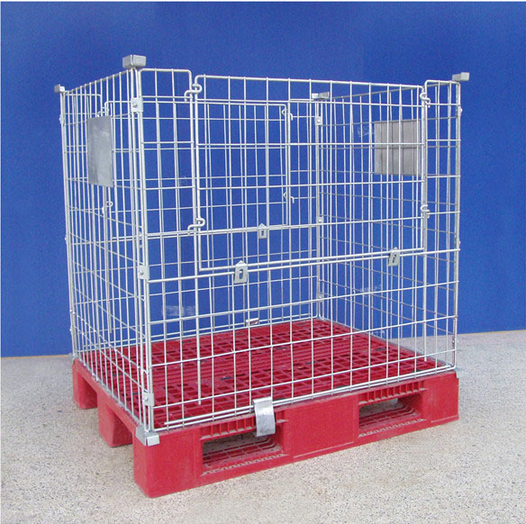Mesh Container Type Pallet Cage