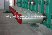 ISO11439 Standard Glass Fiber Type-2 Semi Wrapped CNG Cylinder