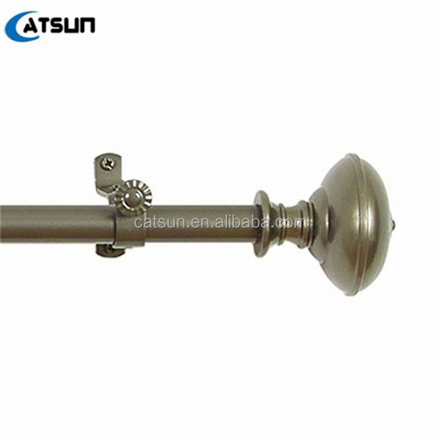 Factory Wholesale Art Round Iron Rod And Finials