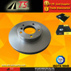 For Hyundai Front disc brake rotor,car parts hyundai elantra