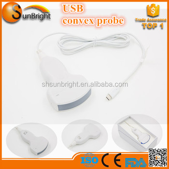 USB Cable Connect Clear Image Probe Type cheap USB convex Probe
