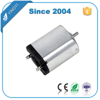 permanent magnet flat electric 3v brush dc motor for toy plane