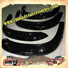 Standard size truck parts 4wd accessories ABS fender flare for FJ Cruiser