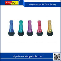 Motorcycles And Automobiles Color Sleeve Snap In Tire Valves