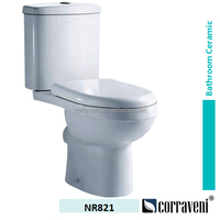 sanitaryware ceramic short toilet model NR821