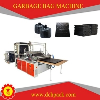 BRN-1200 Single Layer machine make garbage plastic bags