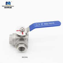 Factory Directly Provide High Quality Useful customization 3 Way Ball Valve