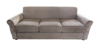 Cheap wood sofa liner fabric antique 3seaters sofa