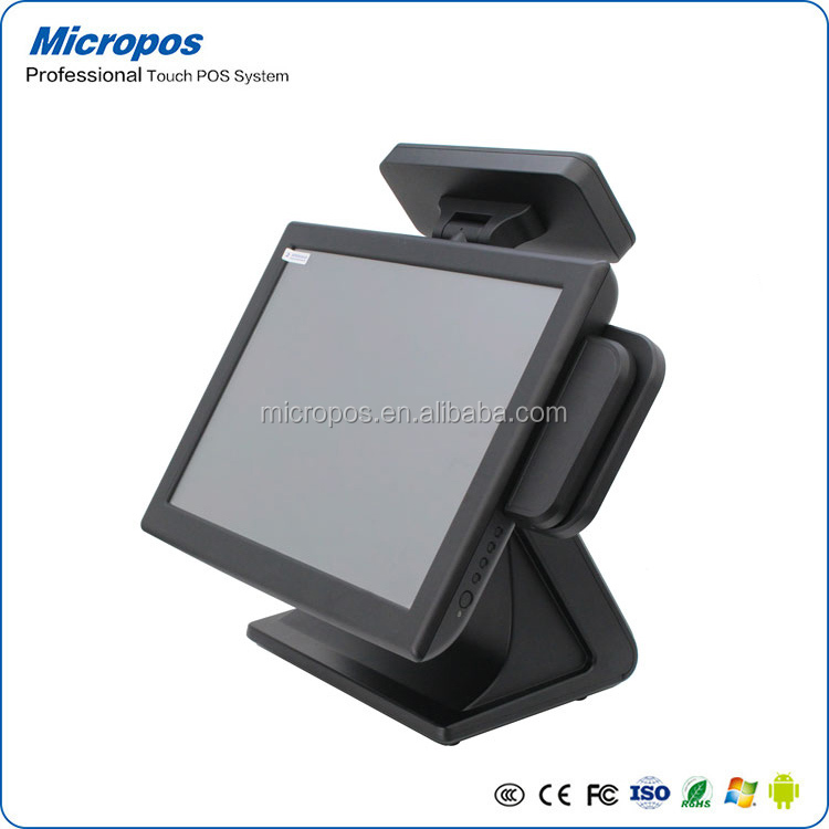 touch screen computer pos and cash register for supermarket and restaurant