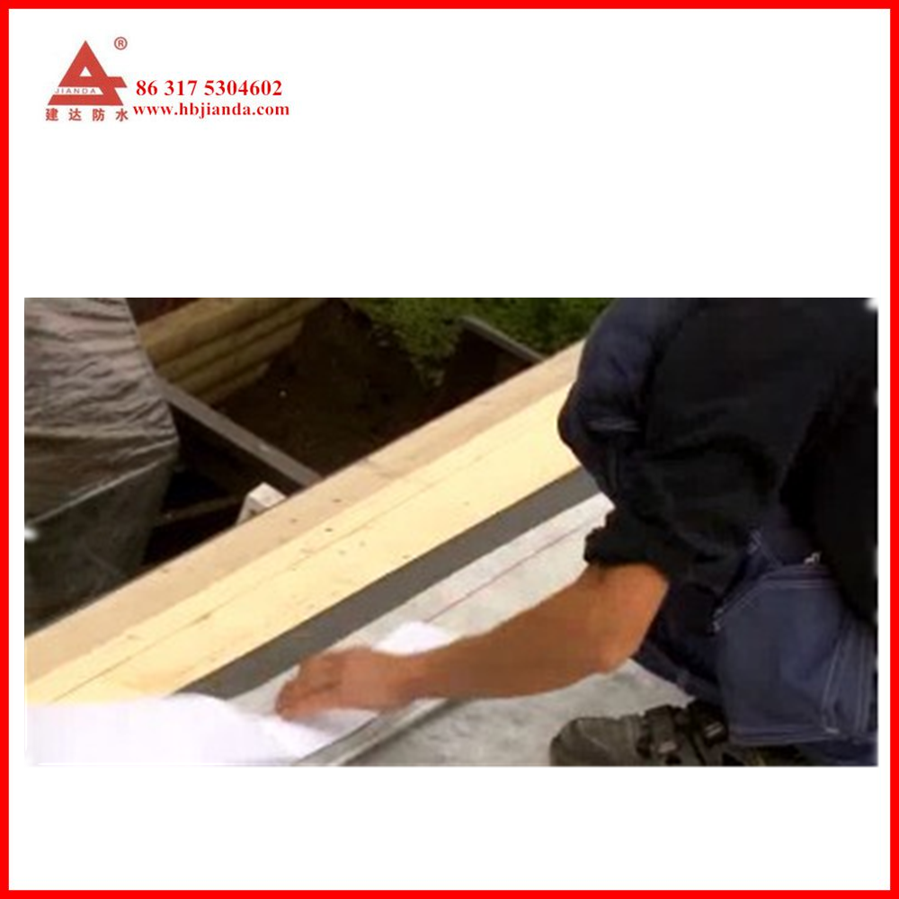 wooden slope roof Petroleum asphalt self adhesive waterproof roof underlay membrane