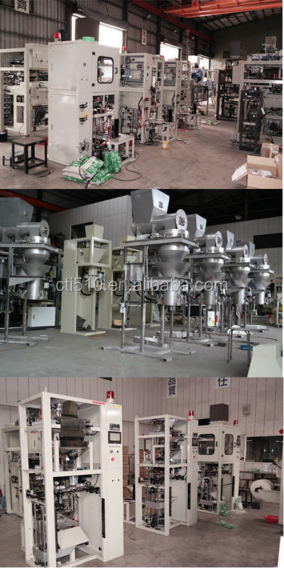 Big Bag Coffee beans Feeds Packing Machine Auto wheat weighing and packing machine