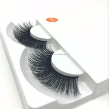 Eyebrows fake premade volume fan lashes private label lashes 3D silk eyelashes