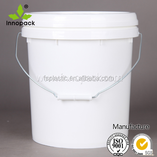 multi color printed 16l plastic paint pail/ barrel/ drum/ bucket