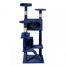 "Best Pet 52"" Cat Tree Tower Condos Furniture Scratching Posts Kitty CatHouse"