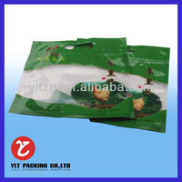 plastic food bag/ retort pouch with zipper for chicken