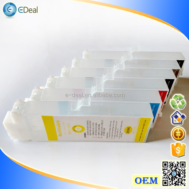 260ml PFI-106 empty refill ink cartridge for Canon IPF6400 IPF6450 printer ink cartridge with chip