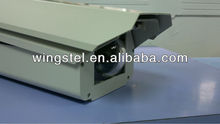 Aluminium enclosure/housing cctv/cctv small camera housing with Fisheye Window and Stainless Steel Accessories