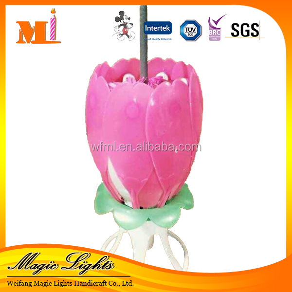 China Professional Produce Various Model Double Layer Electric Birthday Candle