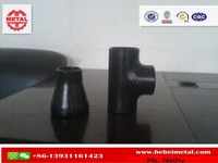ASTM A234 WPB Seamless Schedule 40 Steel Pipe Fittings